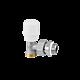 Радиаторный кран RBM (ручной, угловой)