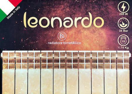 Биметаллические радиаторы LEONARDO (Леонардо), Италия